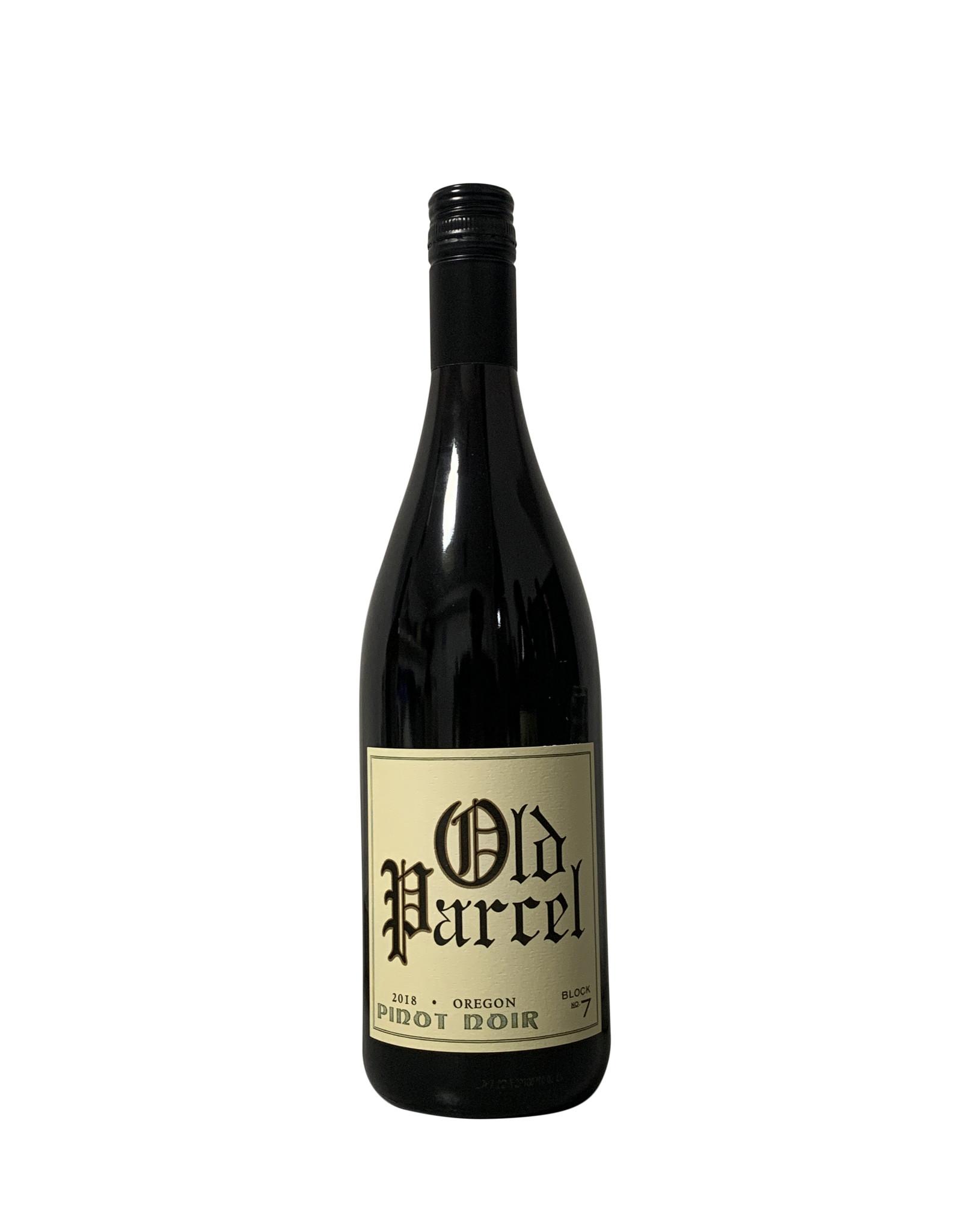 Old Parcel Pinot Noir 2018, Oregon (750ml)