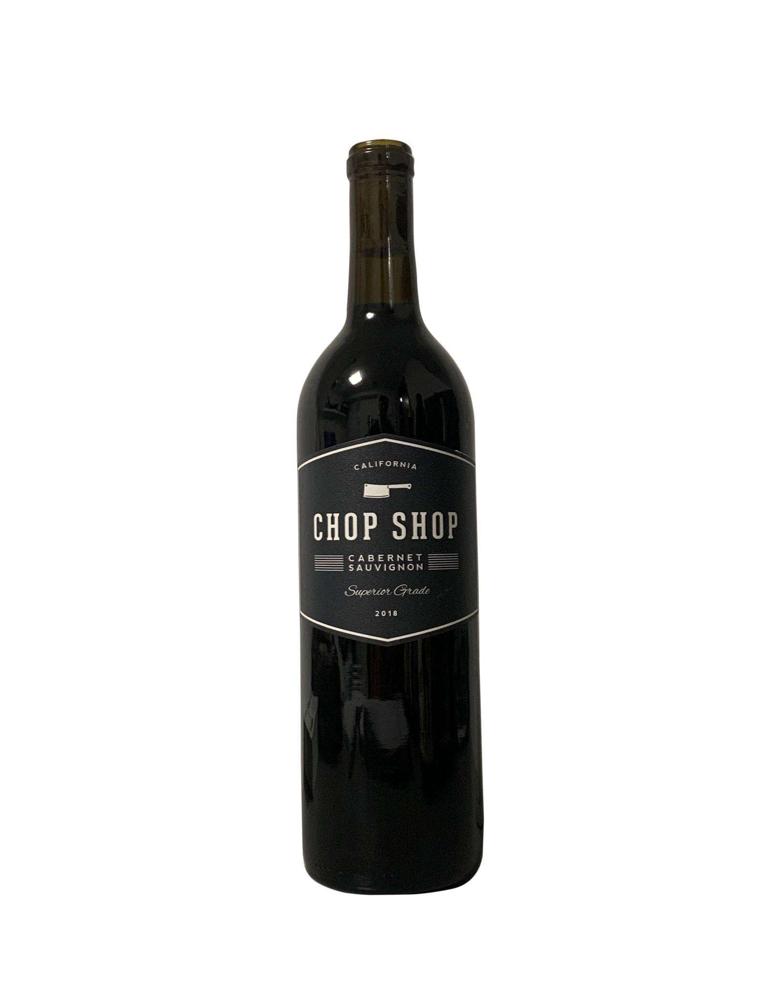 Chop Shop Cabernet Sauvignon 2018, California (750mL)