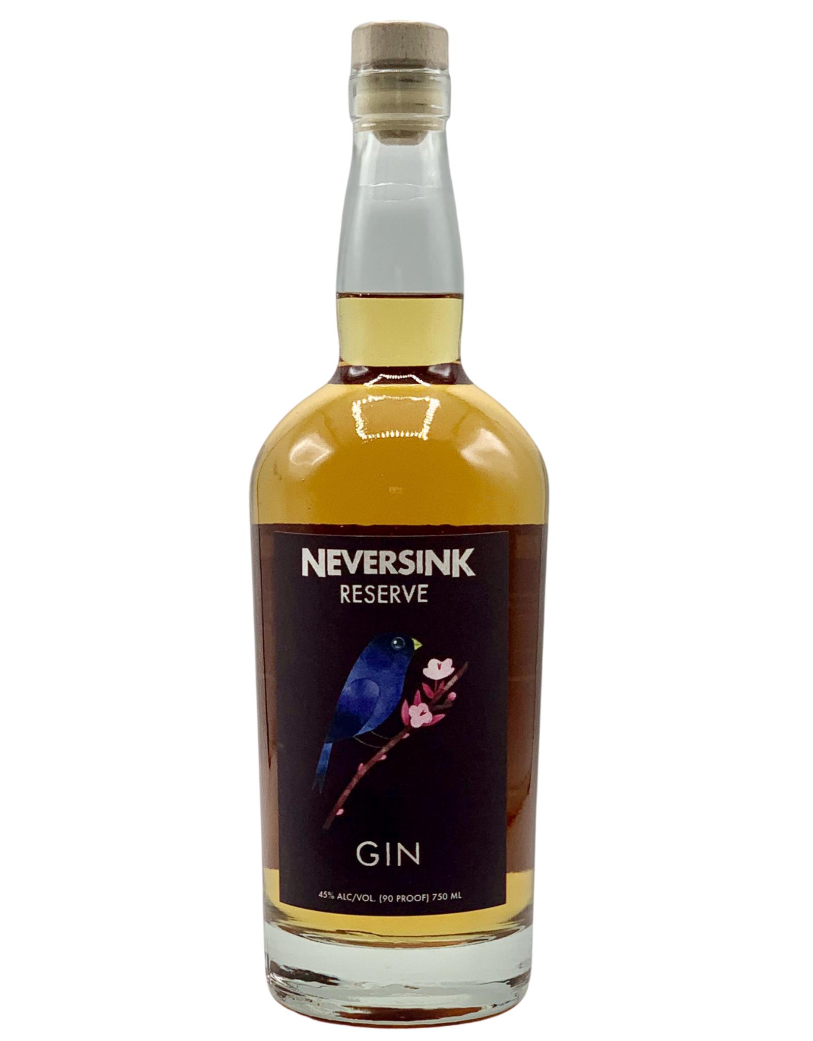 Neversink Neversink Spirits, Barrel-Aged 'Reserve' Gin (750ml)