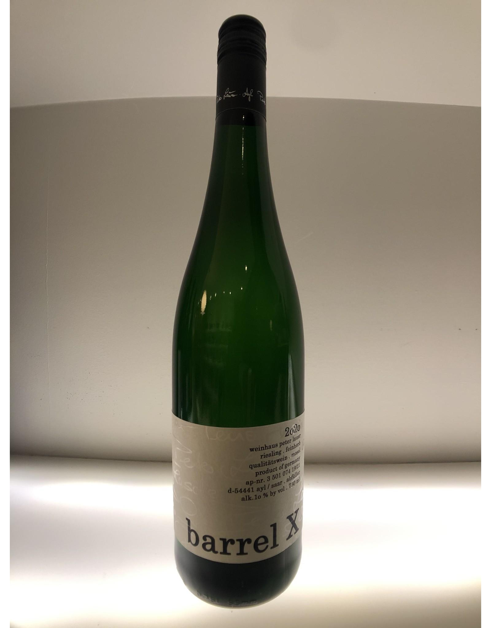 Lauer Lauer, Barrel X, Riesling Feinherb 2020 Mosel, Germany (750mL)