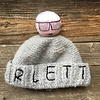 Mua Mua Dolls Knit Beanie Hat Karletto - Grey