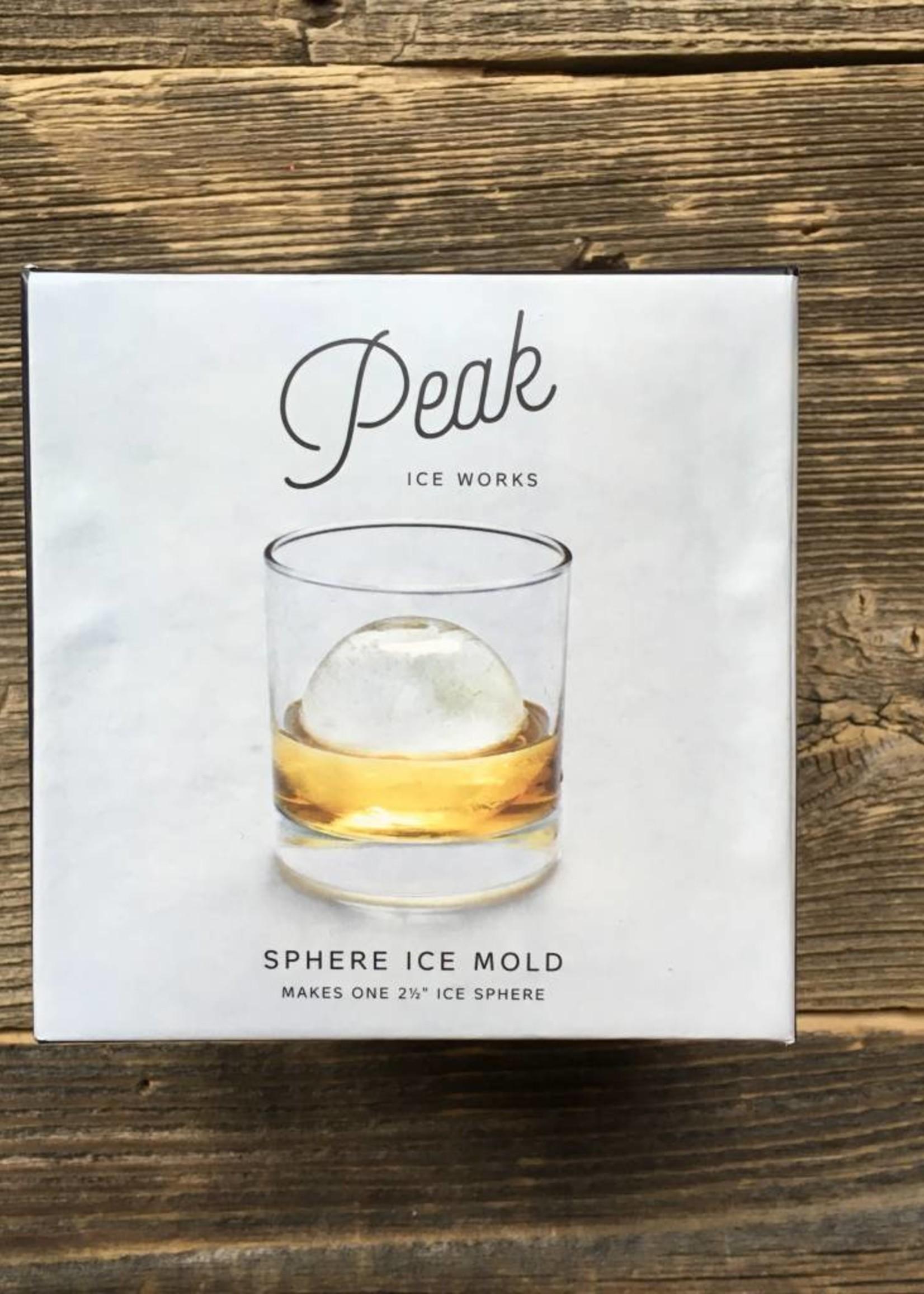 Peak Ice Works Peak Ice Works Single Sphere Ice Mold
