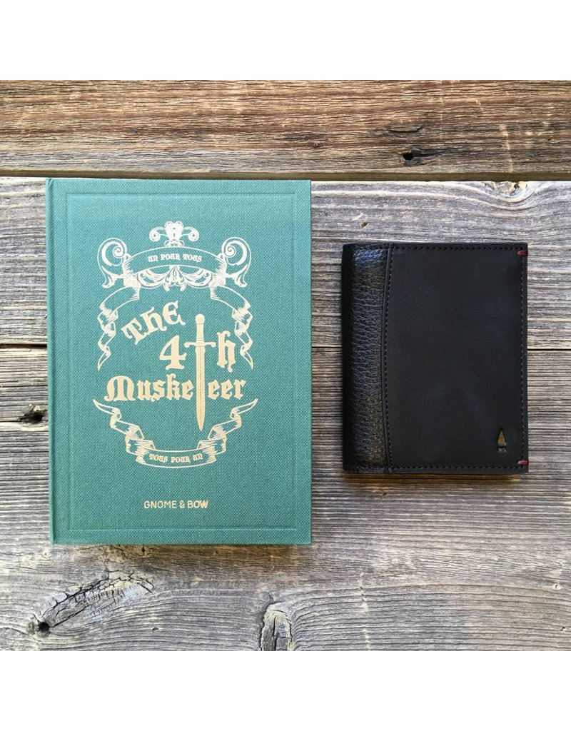 Gnome & Bow Gnome & Bow Felton Card Wallet Black