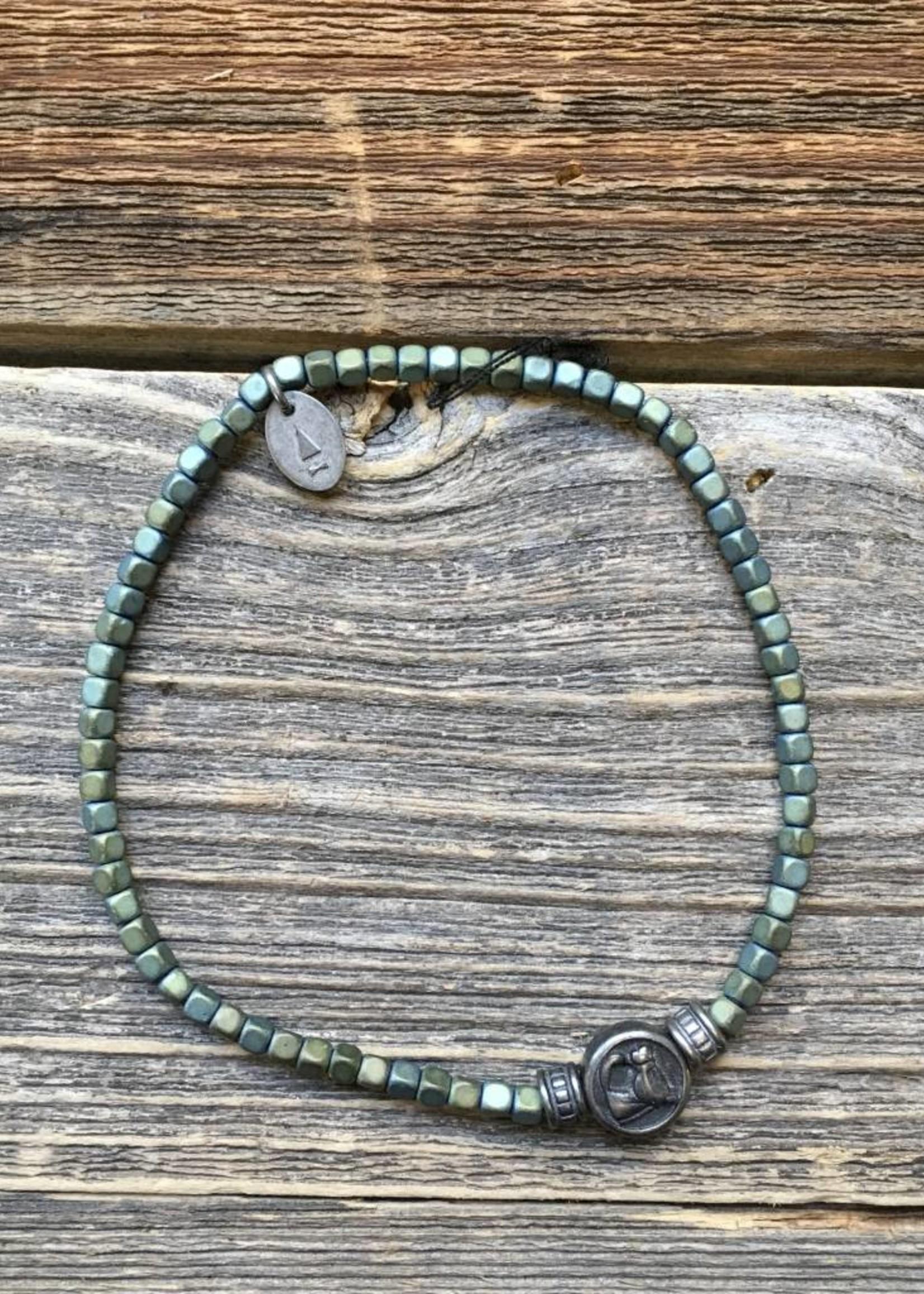 Gnome & Bow Gnome & Bow Lucky Horse Bracelet
