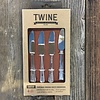 Twine Chateau Vintage Cheese Knife Markers