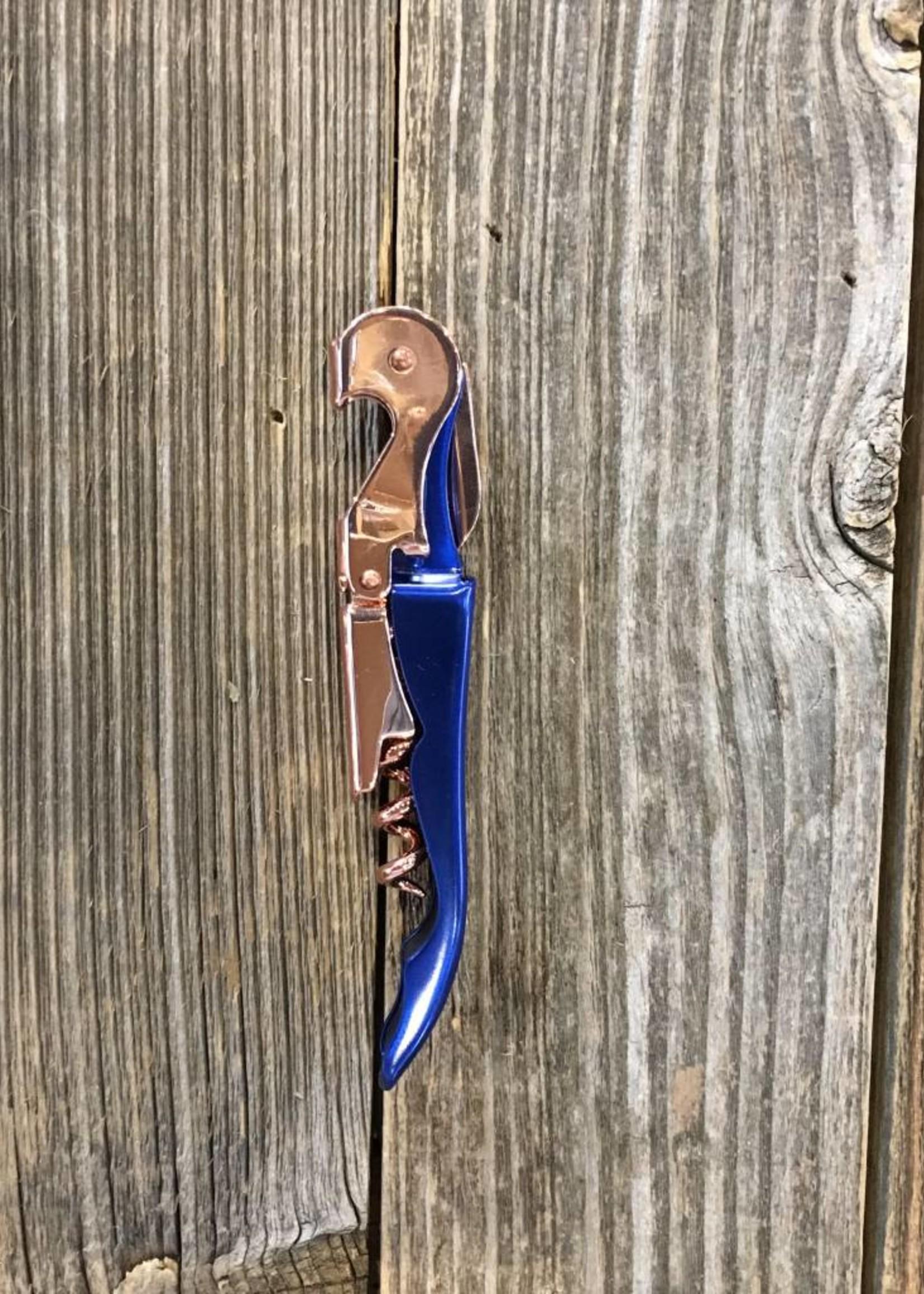 Viski Viski Indigo & Copper Corkscrew