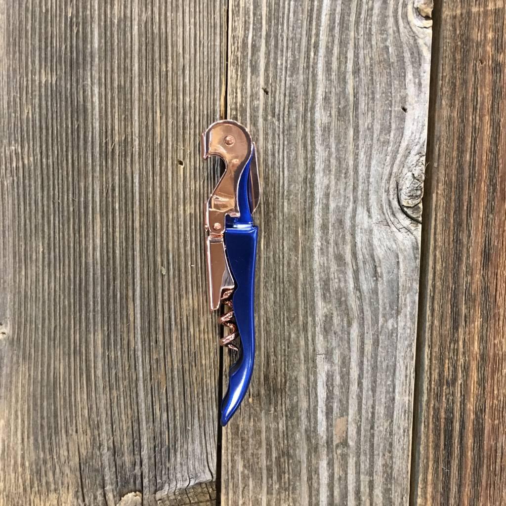 Viski Indigo & Copper Corkscrew