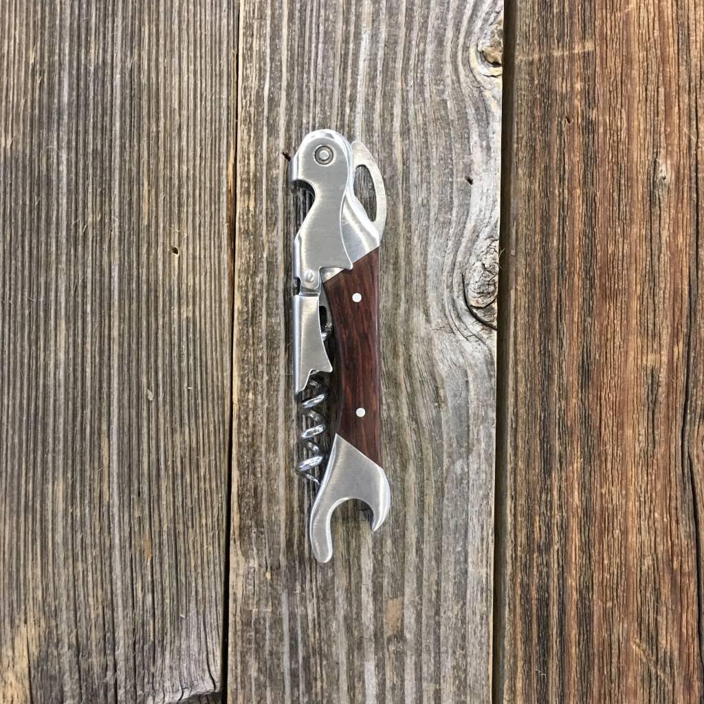 Viski Admiral Double Opener Corkscrew