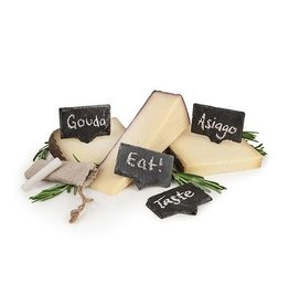 Twine Twine Rustic Farmhouse Slate Cheese Markers
