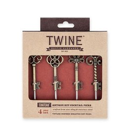 Twine Twine Chateau Antique Key Cocktail Picks
