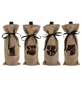 Twine Twine Marketplace - Jute Bag Wine Tasting Kit