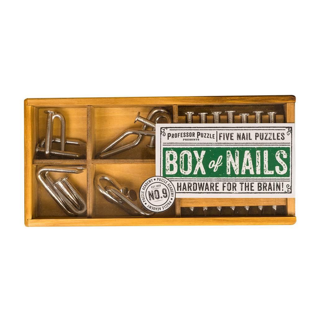 Professor Puzzle Box of Nails