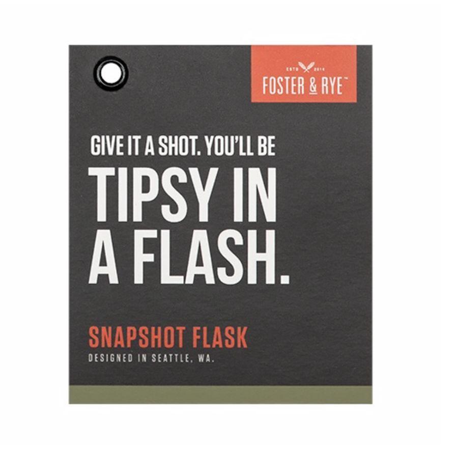 Foster & Rye Snapshot Flask
