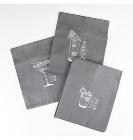 Viski Viski Admiral: Bar Cart Cocktail Towels