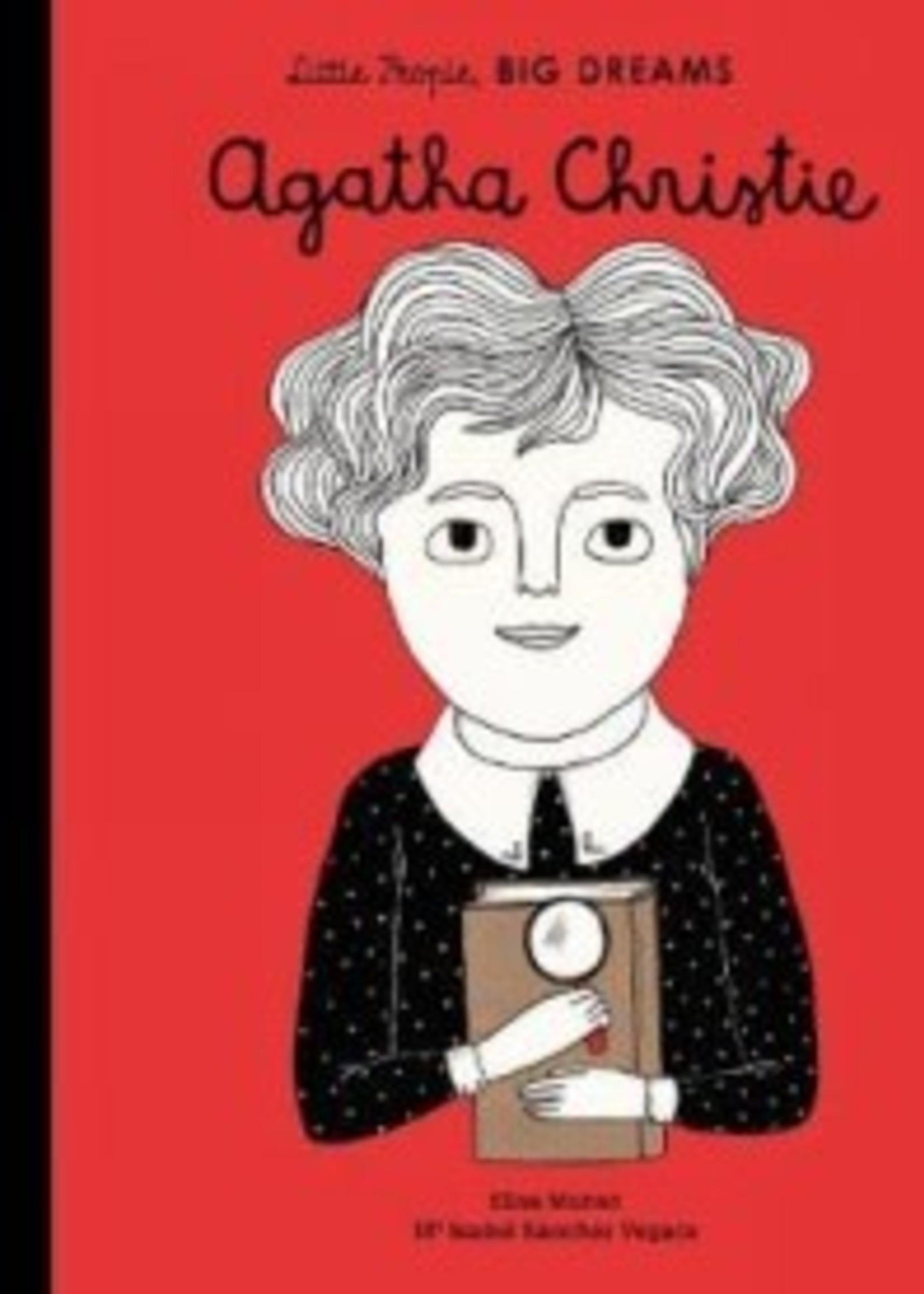 Hachette Little People Big Dreams Agatha Christie
