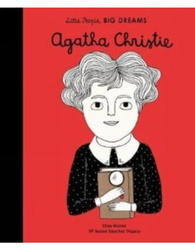 Hachette Little People Big Dreams Agatha Christie