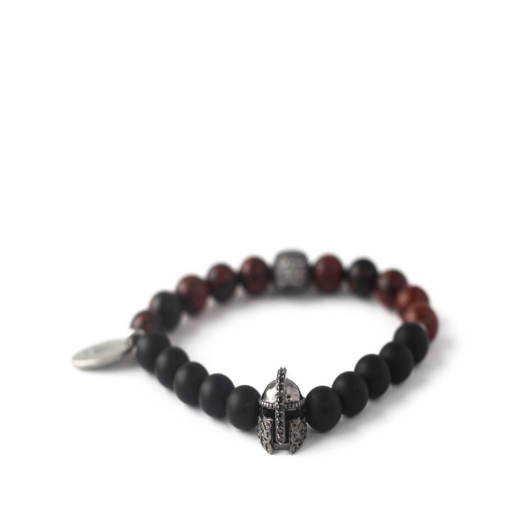 Gnome & Bow Helmskull Bracelet