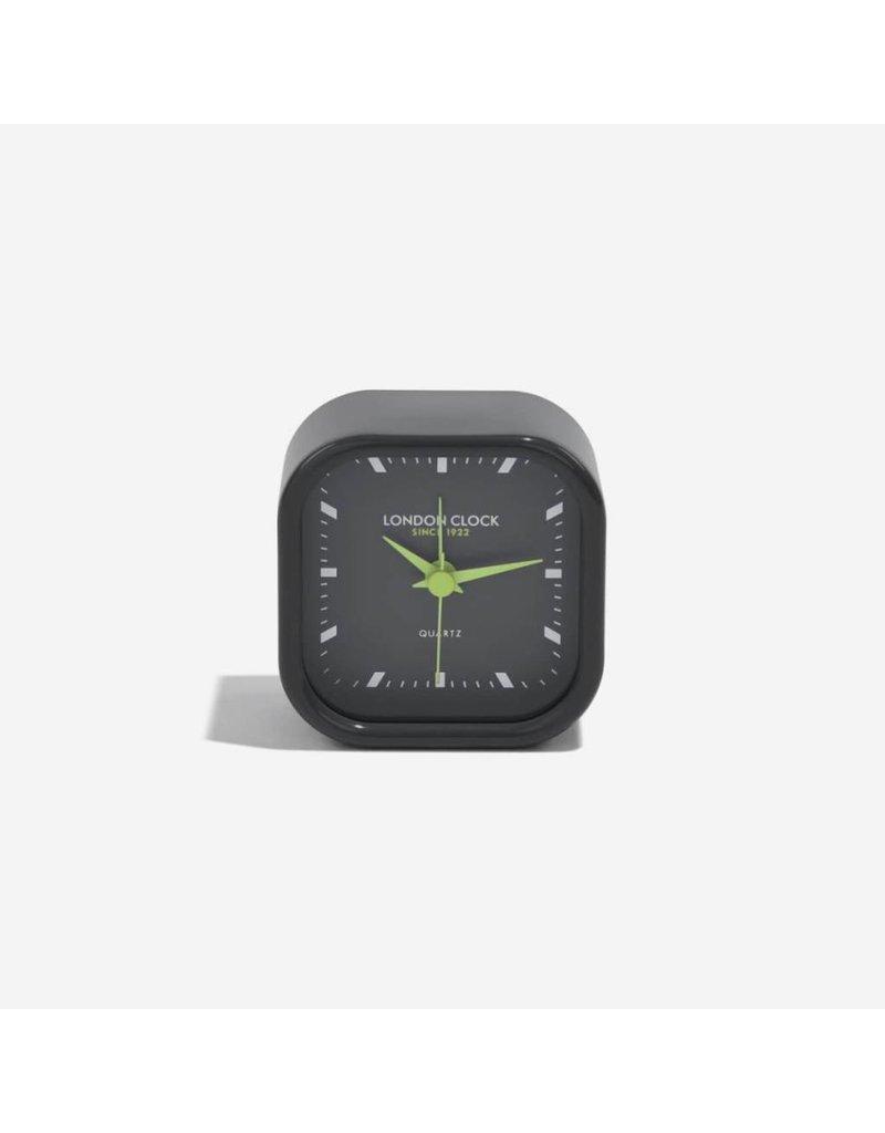 London Clock London Clock Bang Gloss Fin Black Case Black/Black Marker