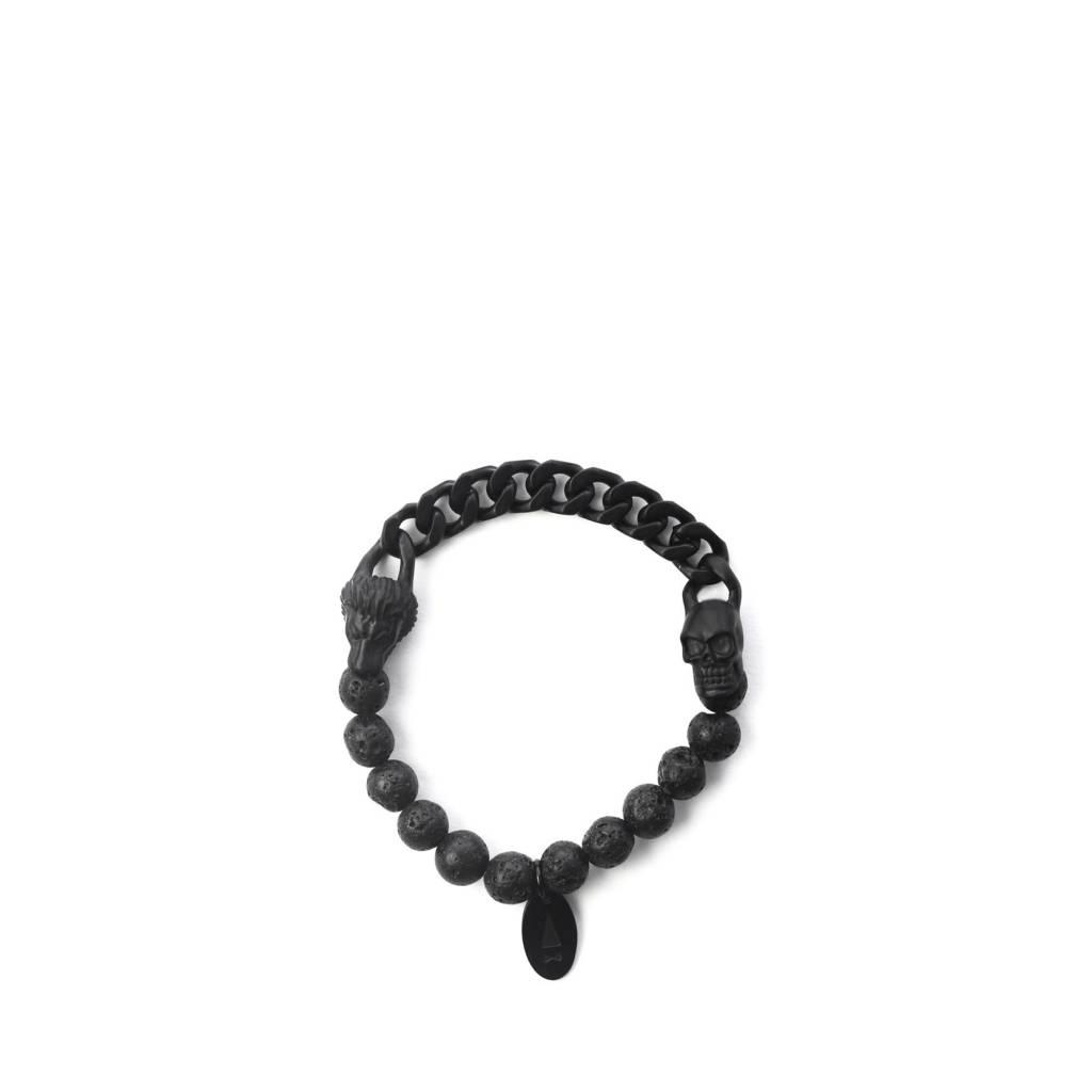 Gnome & Bow Lionskull Bracelet