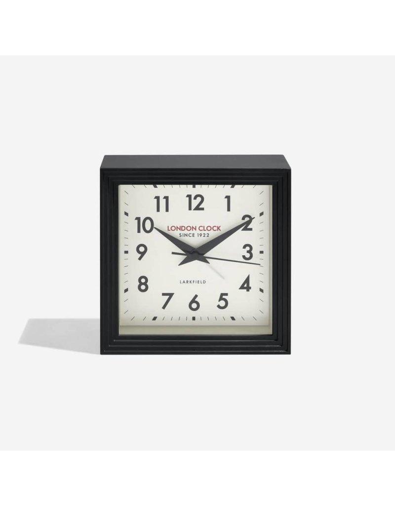 London Clock London Clock The Station the Express Black Metal Case