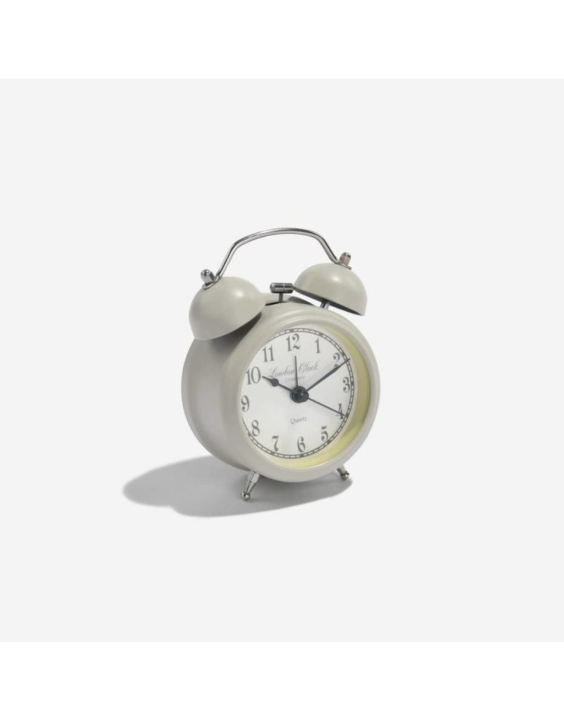 London Clock London Clock Heritage Small Charlotte Soft Grey Metal