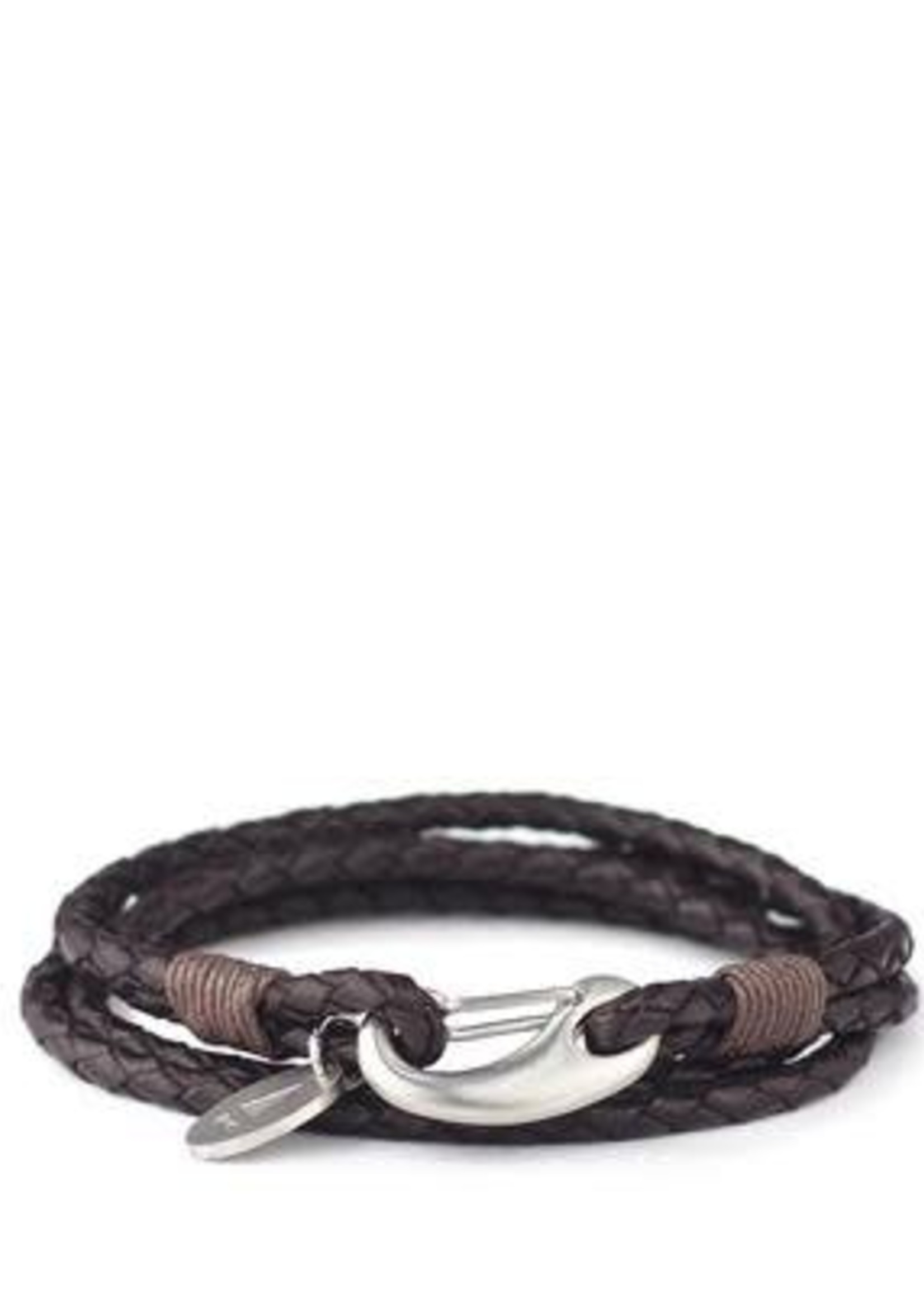 Gnome & Bow Gnome & Bow Ralph Braided Leather Bracelet