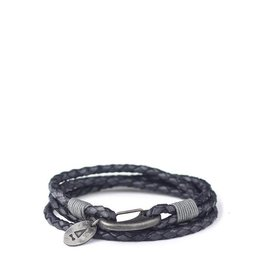 Gnome & Bow Gnome & Bow Ralph Braided Antique Leather Bracelet