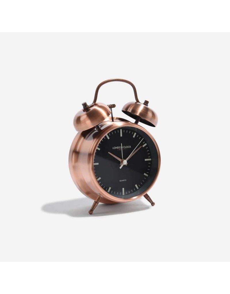 London Clock London Clock Blaze Copper Fin Twinbell Copper Fin Hands