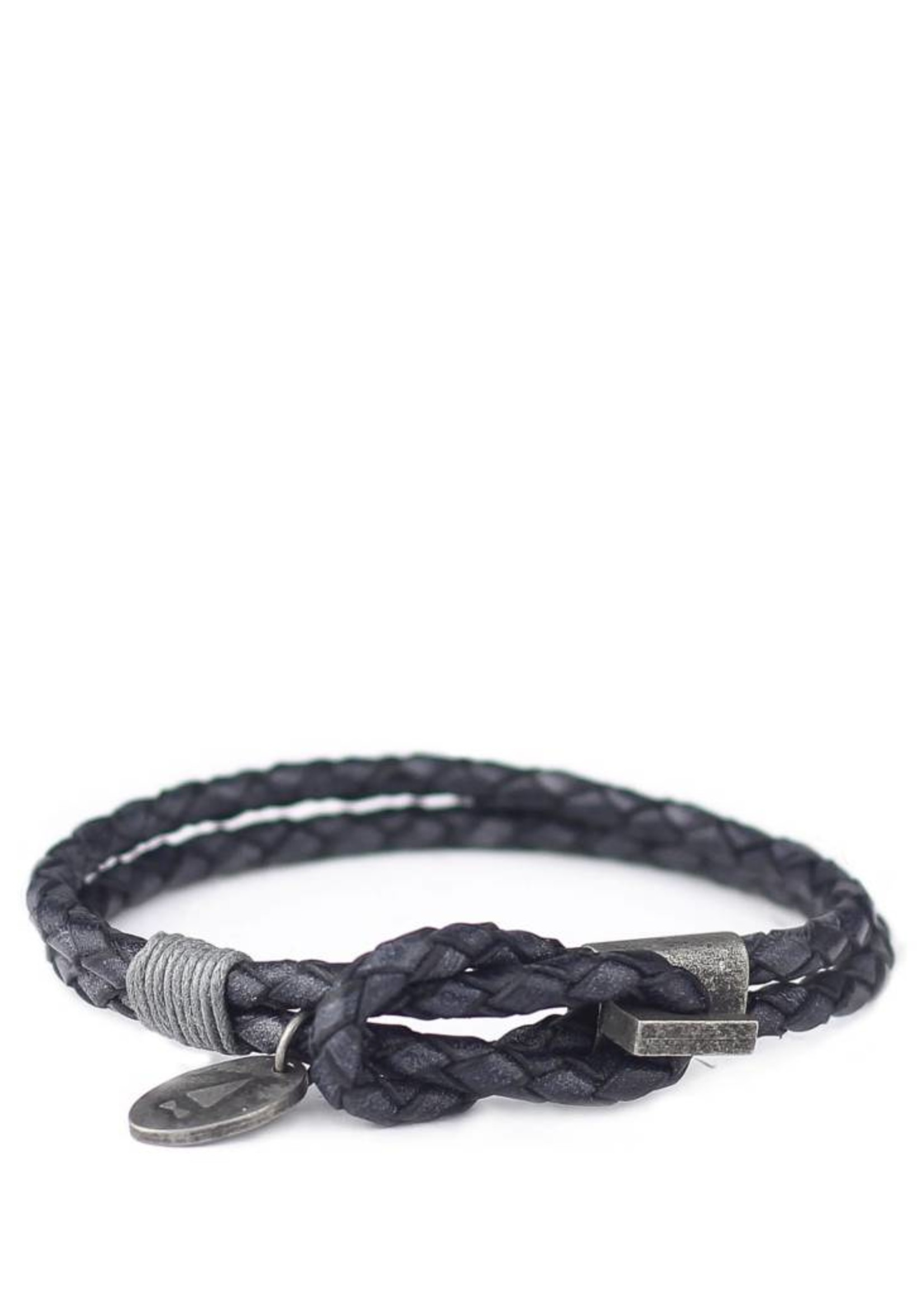 Gnome & Bow Gnome & Bow Smith Antique Braided Leather Bracelet