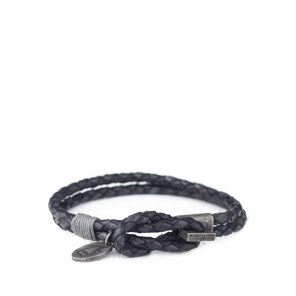 Gnome & Bow Smith Antique Braided Leather Bracelet