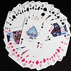 Purling London Playing Cards Twin Deck (Hot Pink & Royal Blue)