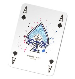 Purling London Purling London Playing Cards Twin Deck (Hot Pink & Royal Blue)
