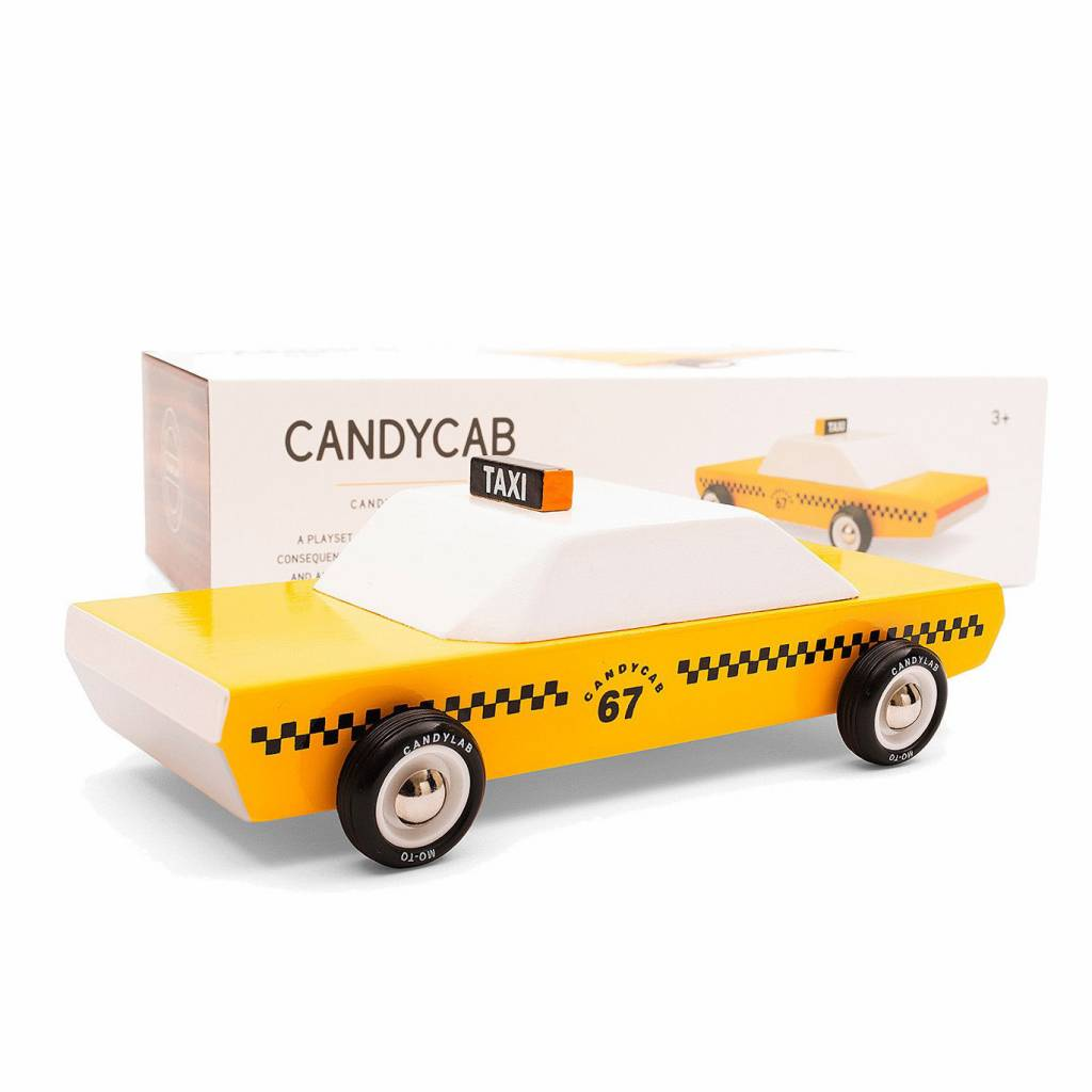 Candylab Yellow Taxicab