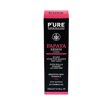 P'ure Papaya Renew Cream 100ml