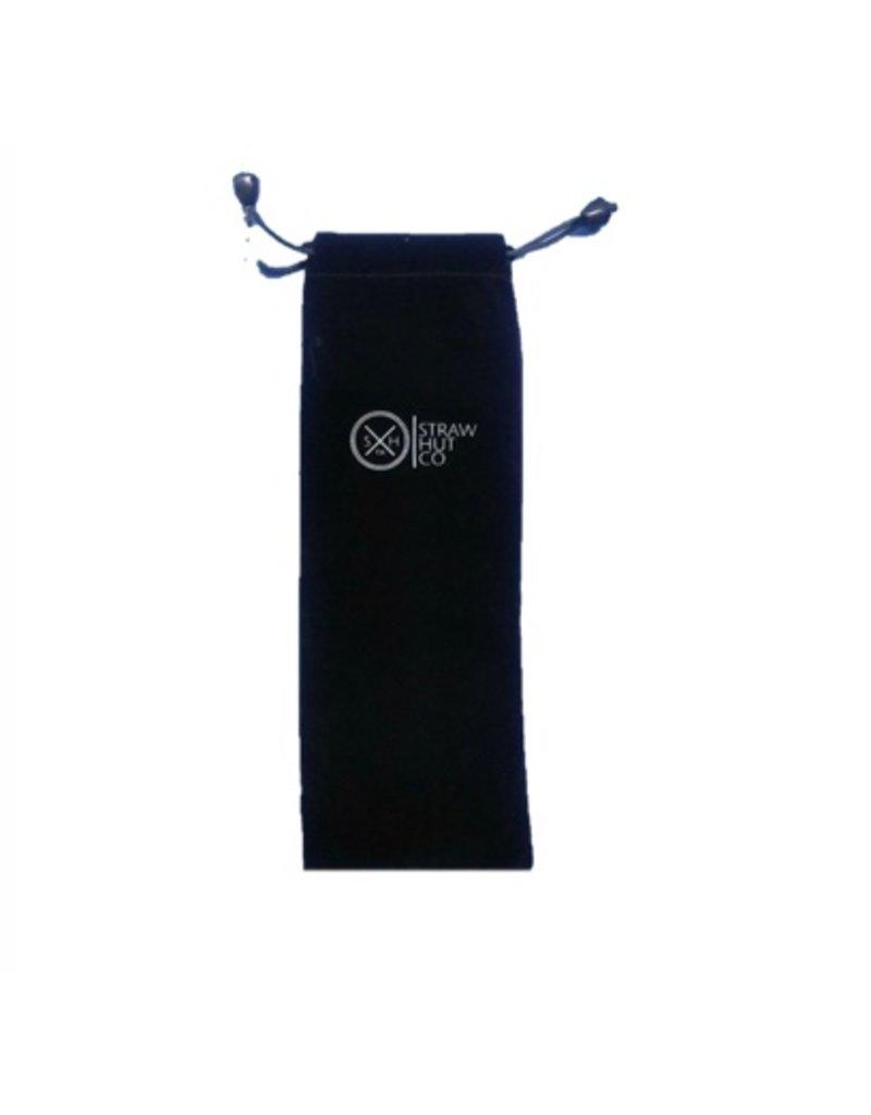 Straw Hut Co. Straw Hut Black Bag