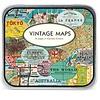 Cavallini Maps Stickers