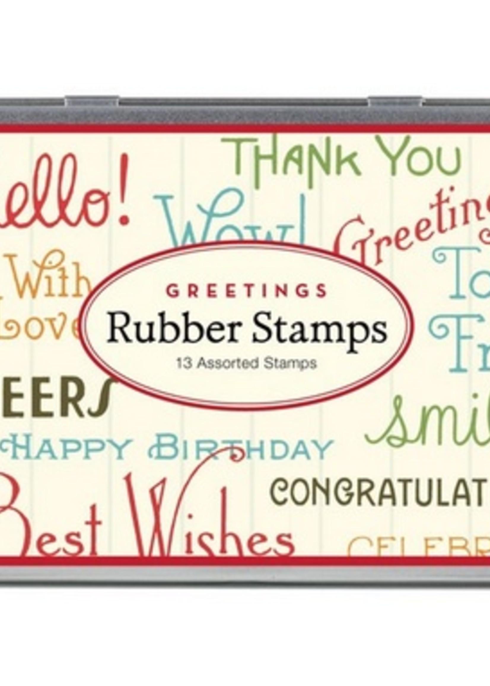 Cavallini Cavallini Rubber Stamp Set