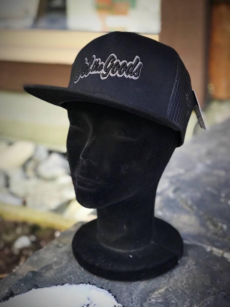Get the Goods Black Trucker Hat
