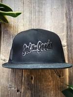 Get the Goods Get the Goods Black Trucker Hat