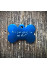 Premier Tags Premier Tags Dog Tags Blue