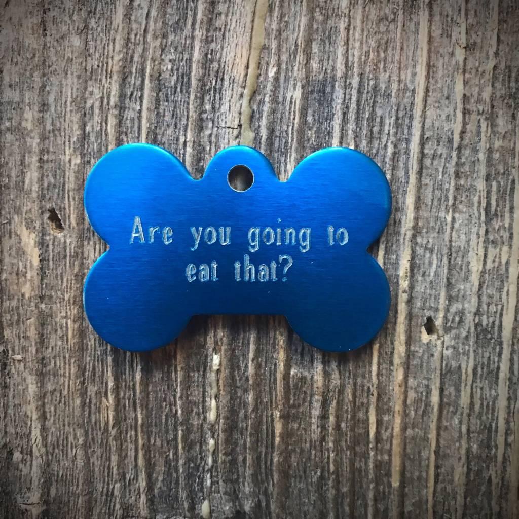 Premier Tags Dog Tags Blue