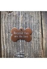 Premier Tags Premier Tags Dog Tags Brown