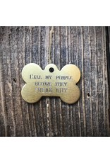 Premier Tags Premier Tags Dog Tags Gold
