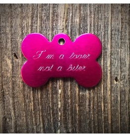 Premier Tags Premier Tags Dog Tags Pink