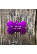 Premier Tags Premier Tags Dog Tags Purple