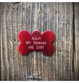 Premier Tags Premier Tags Dog Tags Red