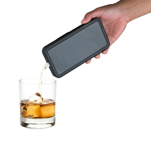 Smuggle Your Booze Smart Phone  Flask