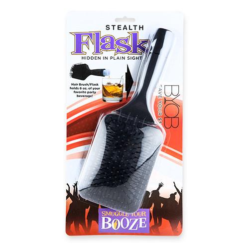 Smuggle Your Booze 6oz Brush Flask