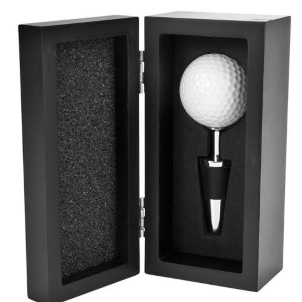 True True Golf Ball Bottle Stopper