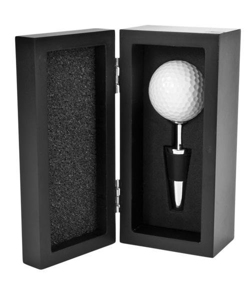 True Golf Ball Bottle Stopper